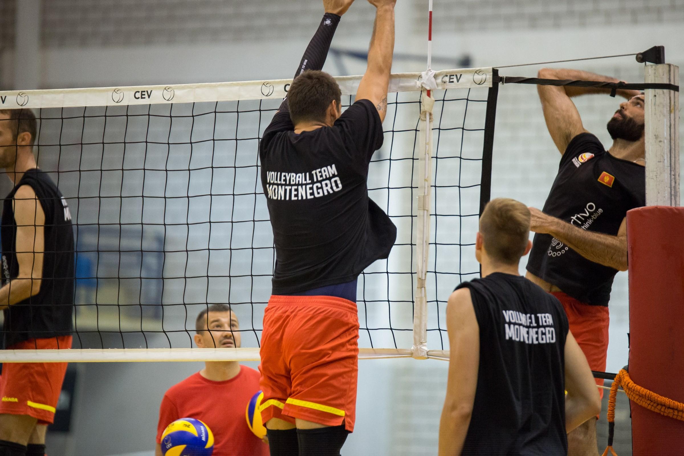 muska odbojkaska reprezentacija crna gora seniori trening 183